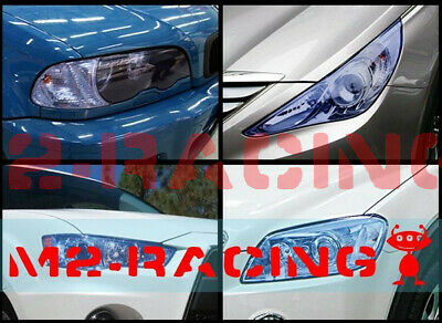 13 Colors Premium Glossy Headlight Taillight Fog Light Vinyl Sticker Tint Film 2