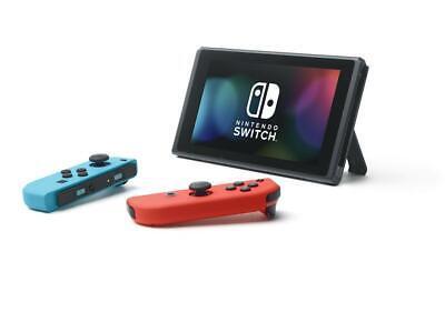 Nuovo Nintendo Switch V2 1.1 Console Blue/Red Portatile Touchscreen Italia 2019 2