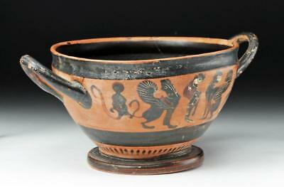 Greek Attic Black-Figure Skyphos - CHC Group Lot 11A