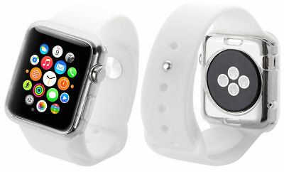 Dooqi Silicone TPU Bumper Protective Cover Case For Apple Watch Series 1 38/42mm