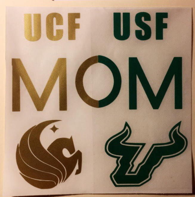 UCF University of Central Florida Knights Decal Sticker Orlando Sports p615