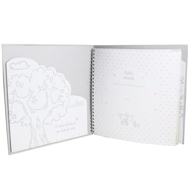 New Baby - Keepsake Gift - Milestone Record Book - Unisex 2