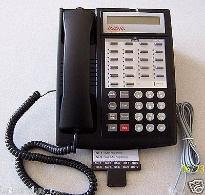 Avaya Lucent AT&T Partner ACS Business Phone System & (8) 18D Phones 700216047 5