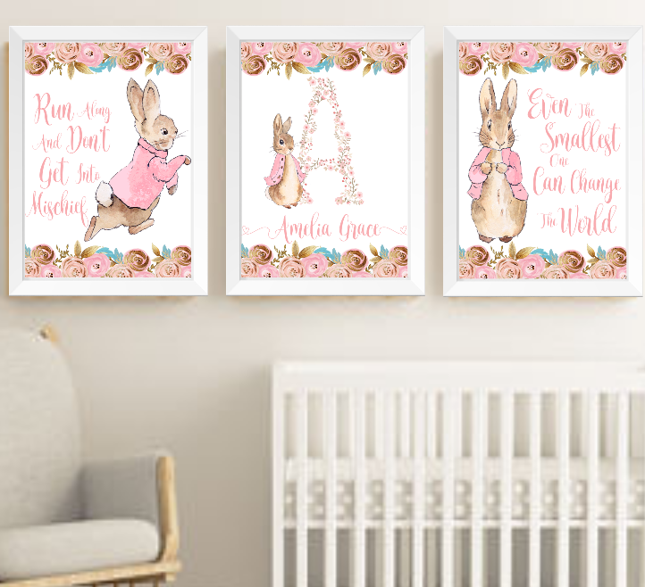 Flopsy Bunny Peter Rabbit Beatrix Potter Baby Nursery