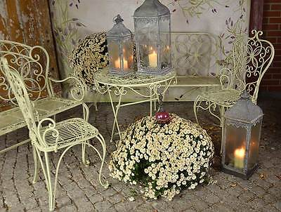 Fabulous Von Gartenmbel Antik Gartenset Landhaus Weiss Elegance Terrasse  Sitzgruppe Metall With Gartenset Metall