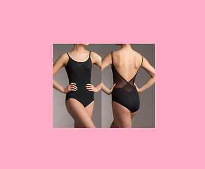 Camisole Leotard Mesh back women's girl's