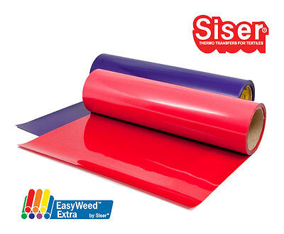 "SISER EasyWeed Heat Transfer Vinyl 12"" x 5ft HTV / 5 Foot Roll / Free Shipping 2"