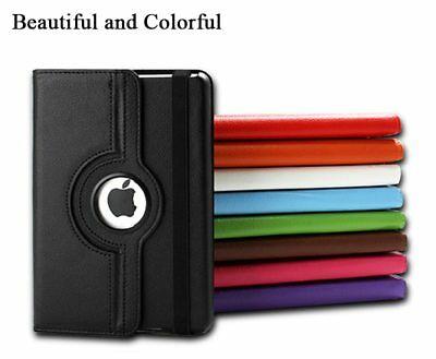 360 Rotate Leather Case Cover For Apple iPad 2 3 4 5 6 Air 1 2 Mini Pro New 9.7 10