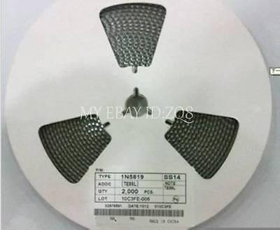 50PCS SS12 1N5817 1A/20V SMA DO-214AC SMD Schottky Diodes