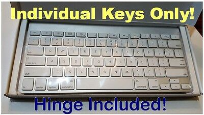 Apple Wireless Keyboard  INDIVIDUAL Replacement Keys  Fits Models A1314