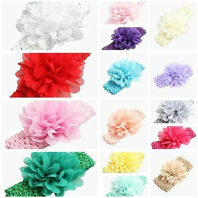 Baby Girls - Infant Girls Various Colour Crotchet Headbands 2