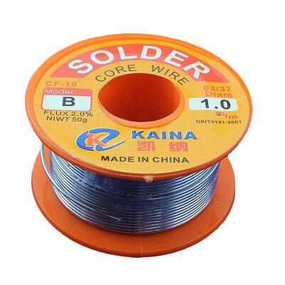 1mm Rosin Core Solder 63/37 Tin Lead Line Flux Welding Iron Wire Reel BI# 2