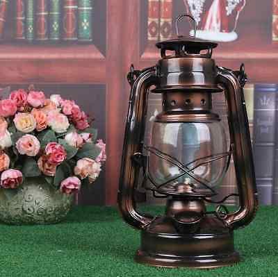 Barn Railroad Kerosene Oil Lamp Lantern Vintage Bronze Copper