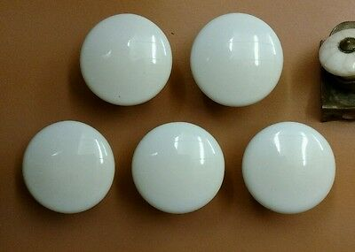 Antique Mixed Lot of 7 Porcelain Drawer Cabinet Pulls 3
