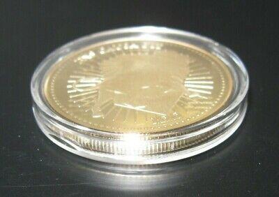 John Wick Continental Hotel Gold Coin Official Replica Movie Prop Capsule Case 3
