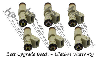 Set 6 Bosch OEM Fuel Injectors  0280155811 for 98-05 Buick Pontiac Chevy 3.8L V6