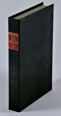 1813 Book- Pietre Dure @ Sagrerstia Vecchia Basilica San Lorezno Florence Duomo 3