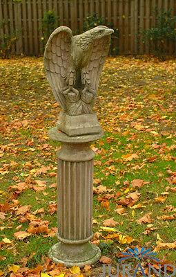 Bundes Reichs Adler Skulptur Statue Garten Figur Stein Dekoration deko 1541 Neu