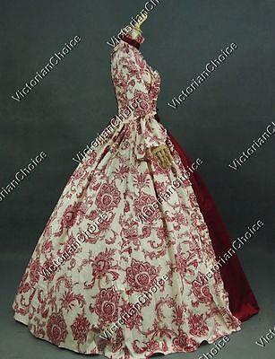 Renaissance Fair Gothic Princess Fantasy Dress Vampire Halloween Costume N 138
