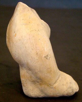 Authentic PRE-COLUMBIAN Female EFFIGY TORSO LEG / MEXICO Colima MAYAN Aztec INCA 3