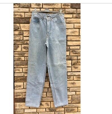 Jeans Vintage A Vita Alta Unisex Size 31/ Lavaggio Chiaro 5