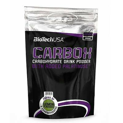 BioTech USA - CarboX - 2000g/2x2000g Lemon Kohlenhydrate, Carbo, Carbohydrate.