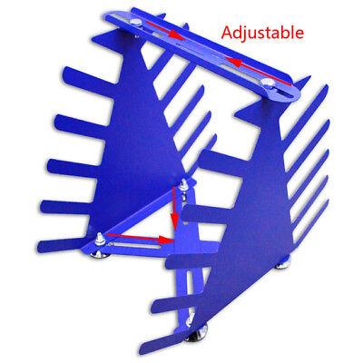 Desktop Siebdruck Squeegee Rack Spachtel Halter Veranstalter Regale Werkzeug 5
