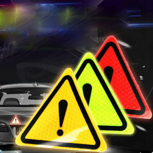 2pcs//Set Safety Reflective Tape Open Sticker Door Open Warning Mark Car Styling Car Sticker Auto Decor Blue