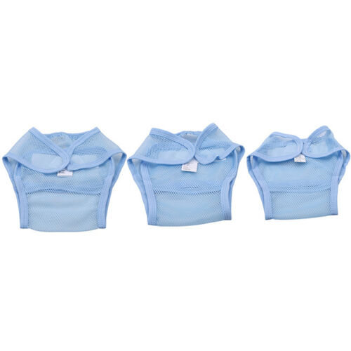 Reusable Baby Nappies Diapers Cloth Insert Adjustable Washable Pocket Supplies 8