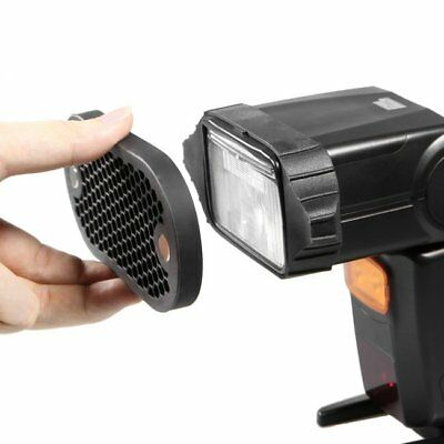 Selens High Quality Honeycomb Grid With 7 Color Gels Set For Speedlight Flashes 4