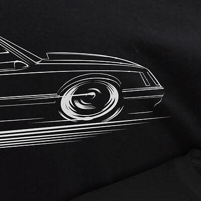 4 Eyed Fox Body Mustang Hoodie hatchback 1986 1985 1984 1983 1982 1981
