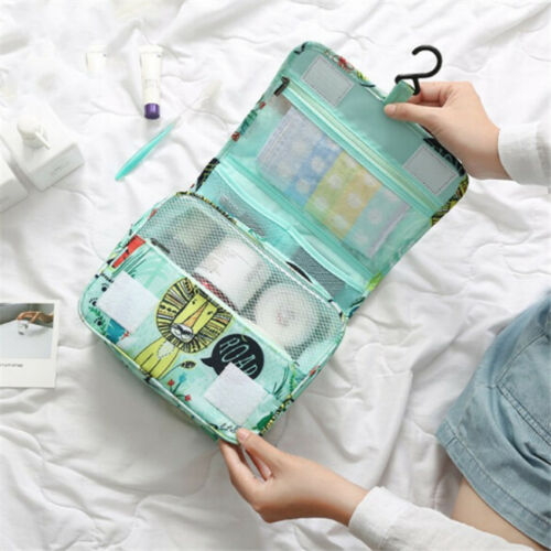 Hanging Travel Toiletry Bag - Folding Portable Waterproof Cosmetic Bag CB 3