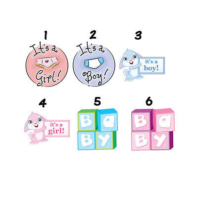 30 Baby Shower Personalized Lollipop Stickers Favors Labels Free Sh