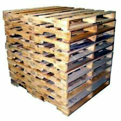 RECYCLED WOOD PALLETS - 48