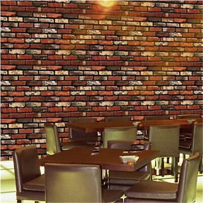 Retro Stone Brick Wallpaper Self Adhesive For Living Room Bedroom Home Decor FG 7