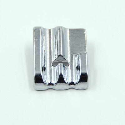 Pied passepoil double, perles 2 rainures métal F067 (4-6mm) machine à coudre 5