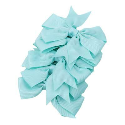Hair Bows Band Boutique Alligator Clip Grosgrain Ribbon For Girls Baby Kids MA 5
