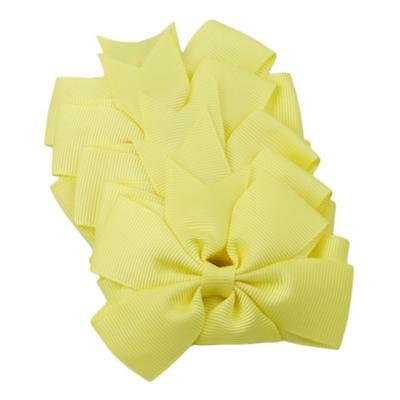 Hair Bows Band Boutique Alligator Clip Grosgrain Ribbon For Girls Baby Kids MA 12
