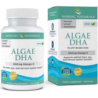 Nordic Naturals Algae Omega-3 DHA 500 mg 60 capsules 2