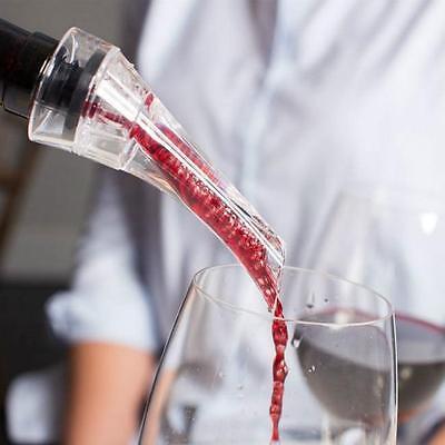 Quick Aerating Pourer Mini Red Wine Decanter Travel Essential Aerator Tool MA 3