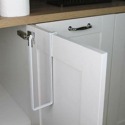 5 Of 12 Wall Mounted Under Shelf Cabinet Kitchen Roll Holder Paper Towel Dispenser New
