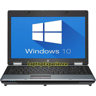 "Hp Laptop Notebook Pc Windows 10 Win Intel Core 2 Duo 4Gb 14.1"" Hd Dvd Computer 11"