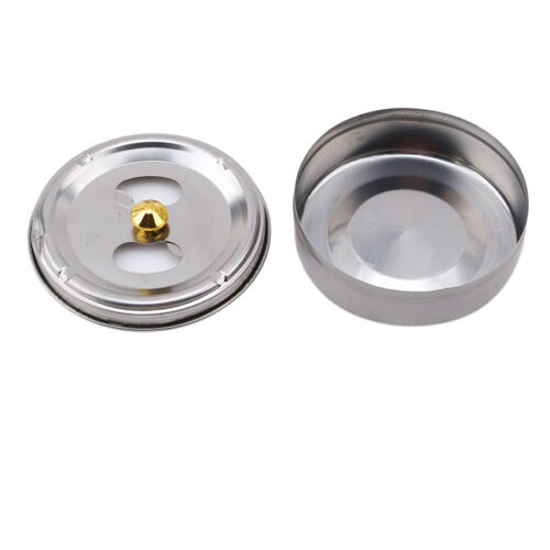 Portable Round Stainless Steel Cigarette Lidded Ashtray Windproof Ashtray HC 2