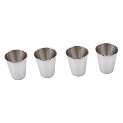 Stainless Steel Cups Mug Shot Cover Case Coffee Tea Beer Camping Tumbler FG 7