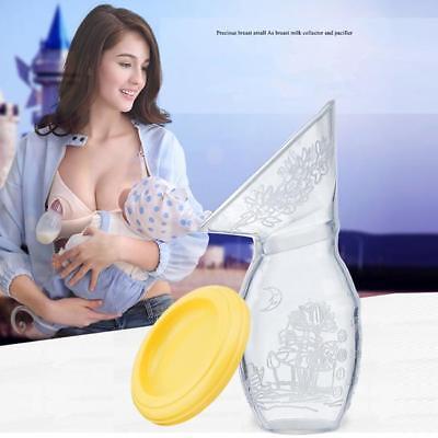 Silicone Manual Breast Pump Silicone Breastfeeding Breastpump Baby Milk FG 2