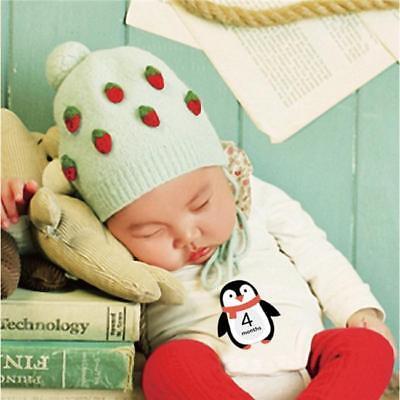 PHOTO PROP BABY SHOWER PREGNANCY GIFT CREATURES Q BABY MILESTONE CARDS