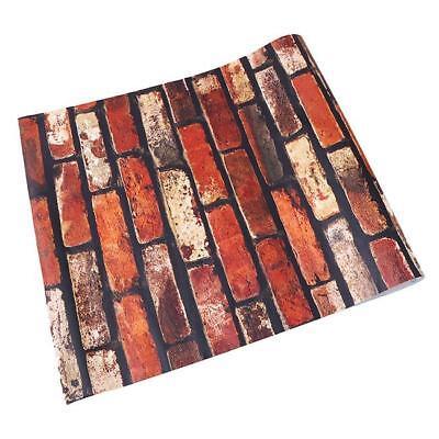 Retro Stone Brick Wallpaper Self Adhesive For Living Room Bedroom Home Decor FG 12