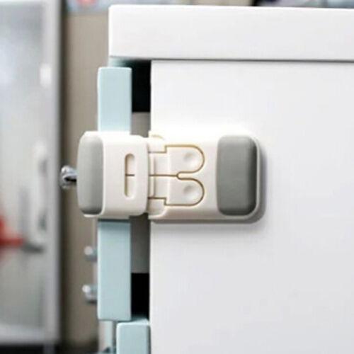 Toddler Baby Kids Child Safety Lock Proof Cabinet Drawer Fridge Cupboard Door JO 11