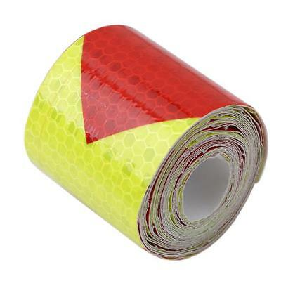 PVC Safety Reflective Warning Tape Conspicuity Film Sticker Multi-color HC 10