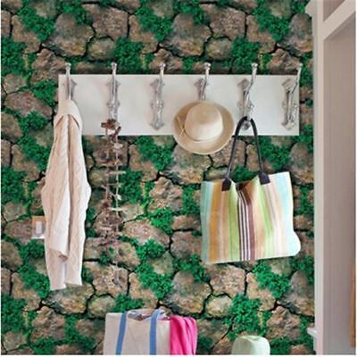 Retro Stone Brick Wallpaper Self Adhesive For Living Room Bedroom Home Decor FG 6